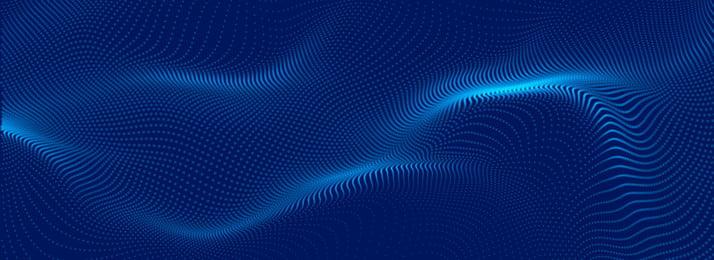 خلفية تقنية بلو جزيئات الأعمال أزرق جسيم عمل العلوم والتكنولوجيا خلفية BANNER الإنترنت PPT خلفية تقنية بلو صورة الخلفية