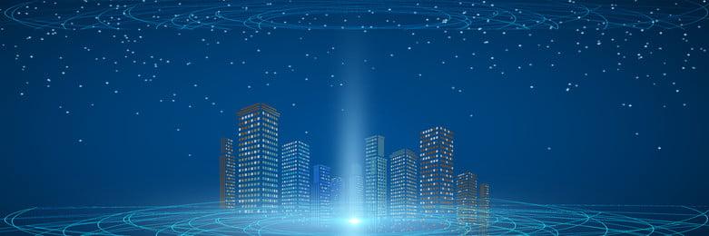藍色商務科技背景模板 藍色 科技 幾何 多邊形 詳情頁海報 科技感 科技風 高科技 漸變, 藍色, 科技, 幾何 背景圖片