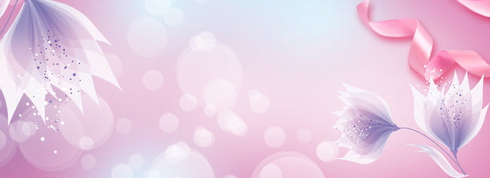 Business Beautiful Romantic Tanabata, Valentines Day, Ribbon, Petal, Background image