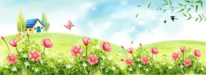كارتون أخضر 24 solarity spring poster banner رسوم متحركة أخضر ابتداء من, من, المصطلحات, الربيع صور الخلفية