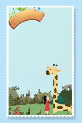 Cartoon nền động vật dễ thương Phim hoạt hình Dễ Học Vẽ Hình Hình Nền
