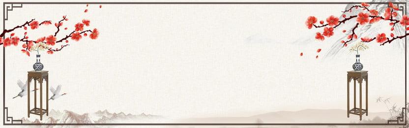 中國風花邊背景模板 中國風 水墨 荷花 竹葉 山水 詩詞 文藝 海報 水墨背景 水墨山 古典 復古背景, 中國風, 水墨, 荷花 背景圖片