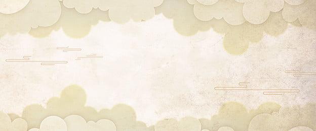 phong cách trung quốc đám mây xiangyun retro, Kết Cấu, Hoài Cổ, Cổ Xưa Ảnh nền