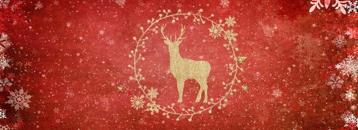 Red bronzing Giáng sinh nai sừng tấm thiệp mời Giáng sinh Giáng sinh Nai Ngữ Biểu Chúc Hình Nền