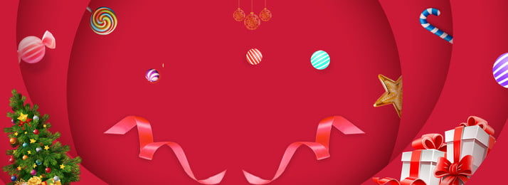 christmas christmas festival happy, Red, Stereoscopic, Layering Background image