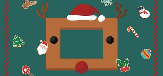 クリスマスミニマリストクリスマスエルクバナー クリスマス ダークグリーン 単純な クリスマスムース ストライプ 文学 クリスマスツリー クリスマス ダークグリーン 単純な 背景画像