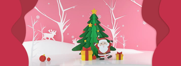 christmas poster christmas eve christmas merry christmas, Santa Claus, Christmas Tree, Snow Background image