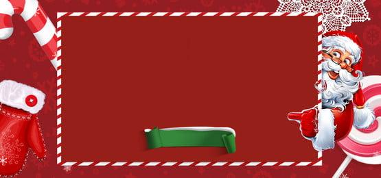 giáng sinh màu đỏ santa claus, Thẻ, Găng Tay, Kẹo Mía Ảnh nền
