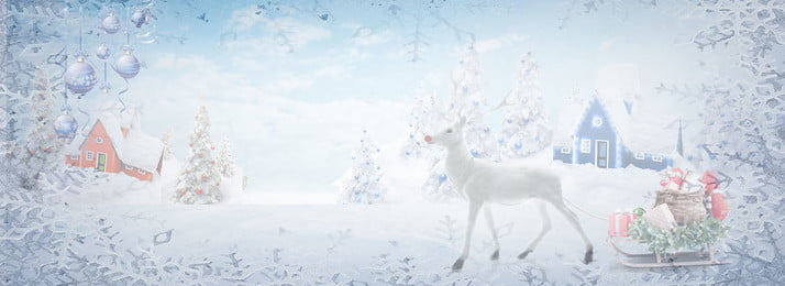 christmas snow scene fawn snowflake, Winter, West, Curtural Innovation Background image