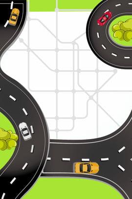 bản đồ tuyến đường giao thông đô thị thành phố giao thông bản , Dẫn, Lịch, Nền Ảnh nền