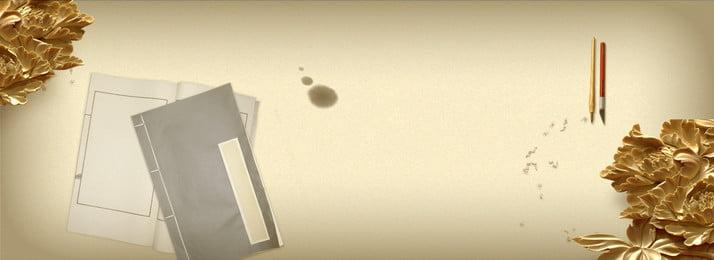 Literarischer woodcarving Weinlesehintergrund des Stoffes Tuchfarbe Literarisch Frisch Retro Chinesischer Stil Holzschnitzerei Schreibpinsel Buch Literarischer Woodcarving Weinlesehintergrund Hintergrundbild