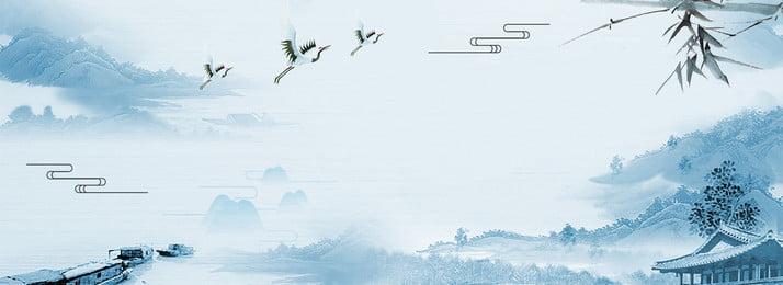 festival de orvalho frio cartaz fundo ilustração psd orvalho frio termos solares ilustração, Fundo, Chinês, Solares Imagem de fundo