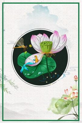 彩色創意荷花白露背景 彩色 創意 植物 自然 環境 花朵 自然 淡雅 邊框 , 彩色創意荷花白露背景, 彩色, 創意 背景圖片