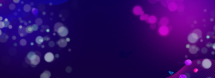 Blaue Steigungsfahne der Neonmode Atmosphäre Cool Neon Blinkt Lichteffekt Blauer Farbverlauf Atmosphäre Mode Cooler Hintergrund Banner Cool Neon Blinkt Hintergrundbild