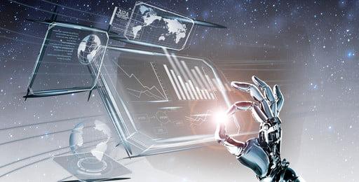 tecnologia inteligente muda a vida legal tecnologia robô inteligente tela de, Toque, Moderna, Tela Imagem de fundo
