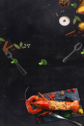 crayfish blackboard overlook Ăn thực phẩm nổi gia vị nền quảng cáo tôm càng xanh bảng , Vị, Quảng, Cảnh Ảnh nền