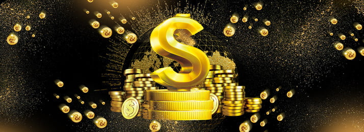 creative gold money the internet, Financial, Synthesis, Technology Background image