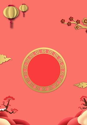 크리 에이 티브 황금 축제 돼지 올해 포스터 크리에이티브 핫 스탬핑 금 축제 돼지의 해 새해 봄 , 스탬핑, 금, 축제 배경 이미지