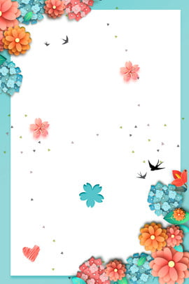Creative Simple Flower Flowers, Beautiful, Flowers, Lace, Background image