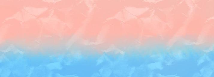 水彩紙を丸めてバナー しわくちゃの紙 しわくちゃの紙 グラデーション ピンク ブルー 水彩画 テクスチャ しわくちゃの紙 しわくちゃの紙 グラデーション 背景画像