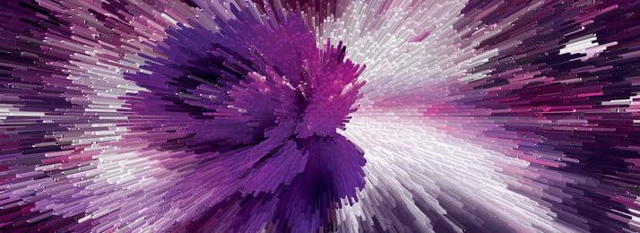 보라색 3d 실린더 스테레오 배경 실린더 3 차원 3d 자주색 방사선 꽃 기술 사업, 차원, 3d, 자주색 배경 이미지