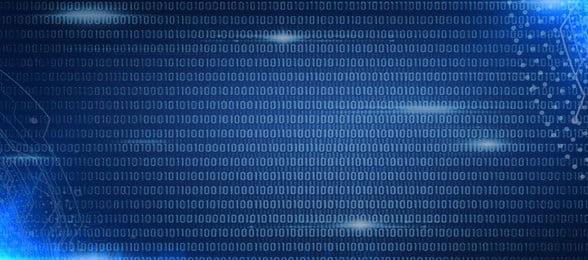 Data The Internet Technology Blue, Banner, Poster, Big Data, Background image
