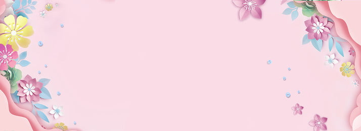 department store advertising design flower the mall, Design, Hand Painted, Simple Picture Background image