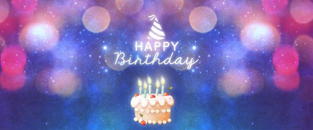 poster kek hari jadi fantasi gembira fantasy mimpi selamat hari jadi hari, Lahir, Kek, Cantik imej latar belakang
