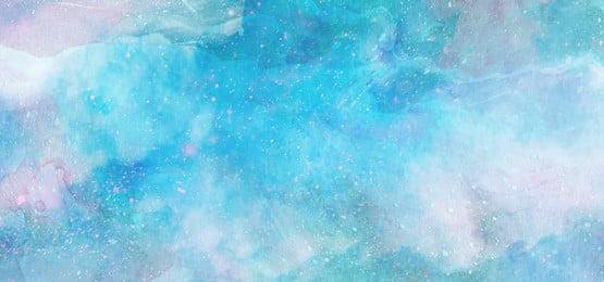 नीली सुंदर स्वप्निल जलरंग तारों की पृष्ठभूमि सपना तारों वाला आकाश सुंदर नीला जल, सपना, तारों, आकाश पृष्ठभूमि छवि