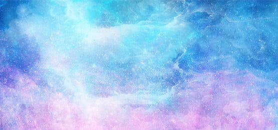 dream starry sky beautiful blue purple, Watercolor Background, Watercolor Starry Sky, Fantasy Starry Sky Background image