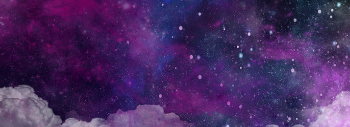 Biểu ngữ màu tím đầy sao đẹp Giấc mơ Bầu trời đầy Lễ đẹp Hình Nền