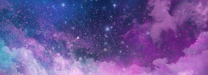 dream starry sky beautiful tanabata, Valentines Day, Romantic, Purple Gradient Background image