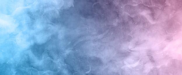 atmosfer fantasi cat air latar belakang berbintang mimpi langit berbintang cantik latar belakang, Berbintang, Cantik, Latar imej latar belakang