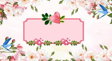 早春の新鮮で新鮮な背景 早春の新しい背景 花の境界線の背景 国境 グリーンプラント 花 植物 早春 単純な ミニマリストスタイル 幸せ、暖かい, 早春の新しい背景, 花の境界線の背景, 国境 背景画像