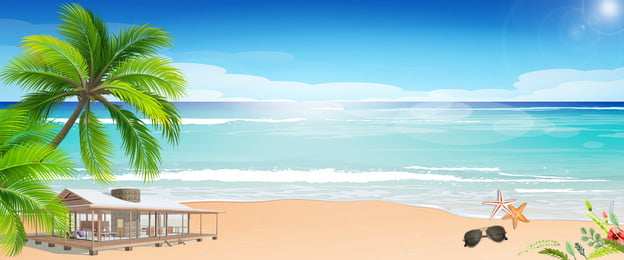 海辺の休暇の背景テンプレート 初夏 初夏に会う 初夏に新しい 日焼け止め 夏の日焼け止め 海 夏に新しい サマーグループ購入 夏の新 クリエイティブ合成, 海辺の休暇の背景テンプレート, 初夏, 初夏に会う 背景画像