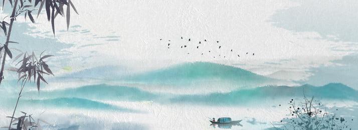 fundo de bambu elegante paisagem chinesa elegante estilo chinês paisagem fundo de, Chinês, Paisagem, Fundo Imagem de fundo
