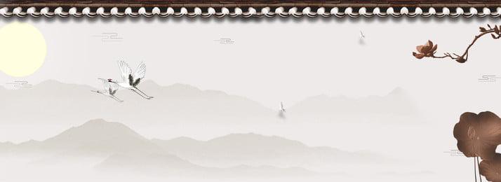 सुरुचिपूर्ण और सुरुचिपूर्ण स्याही रियल एस्टेट पृष्ठभूमि शिष्ट अचल संपत्ति रेट्रो चीनी शैली साहित्य, शिष्ट, अचल, शैली पृष्ठभूमि छवि