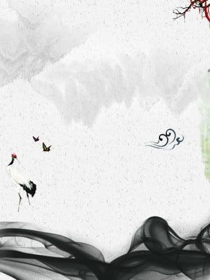 Thanh lịch phong cách Trung Quốc nền poster Thanh lịch Đơn giản Vẽ Cách Lịch Đơn Hình Nền