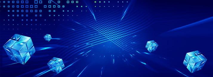 스프린트 블루 큐브 배너 포스터의 끝 연말 스프린트 블루 단순한 사업 사업 사무실 기술 큐브, 연말, 스프린트, 블루 배경 이미지