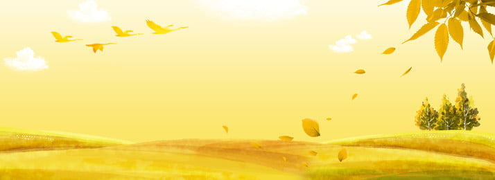 創意合成秋天背景 秋天 落葉 銀杏 九月 秋風 樹葉 卡通 簡約 合成, 秋天, 落葉, 銀杏 背景圖片