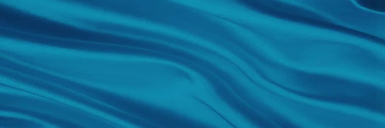 파란색 실크 배경 템플릿 아름다운 리본 실크 접기 쥬얼리 아름다운 리본 실크 접기 실크 원사 새틴 축제 크리에이티브 유럽과 미국, 원사, 새틴, 축제 배경 이미지