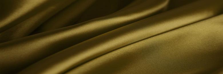 황금 비즈니스 실크 배경 템플릿 아름다운 리본 실크 접기 쥬얼리 아름다운 리본 실크 접기 실크 원사 새틴 축제 크리에이티브 유럽과 미국, 원사, 새틴, 축제 배경 이미지