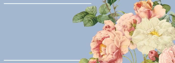 फूलों की ताजा न्यूनतम पृष्ठभूमि फूल सरल ताज़ा साहित्य और कला पृष्ठभूमि पाठ, पृष्ठभूमि, नीला, रेट्रो पृष्ठभूमि छवि