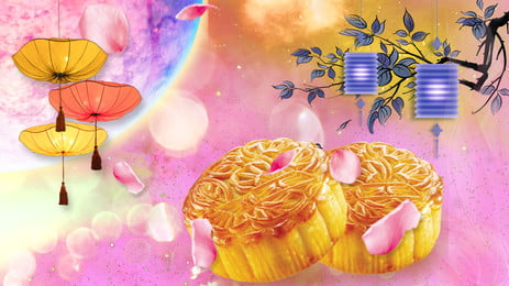 food food moon cake moon, Ad, Poster, Traditional Background image
