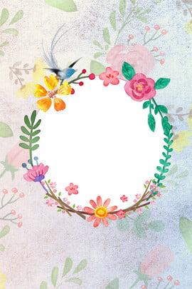 hoa xuân đẹp , Hoa Viền, đơn Giản, Sáng Tạo Ảnh nền