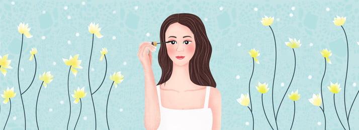 ताजा फूल क्लस्टर सौंदर्य त्वचा की देखभाल पृष्ठभूमि ताज़ा पुष्प गुच्छ लड़की मेकअप सुंदरता त्वचा की, गुच्छ, लड़की, मेकअप पृष्ठभूमि छवि