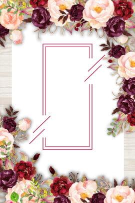 ताजा न्यूनतम पुष्प गर्मी पोस्टर ताज़ा फूल गर्मी ताजा और शांत गरम रोमांटिक हाथ , हुआ, साहित्य, ताज़ा पृष्ठभूमि छवि