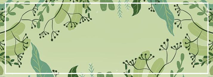 Свежий зеленый лист баннер фон пресная зеленый лист баннер фон пресная зеленый лист баннер фон Свежий зеленый лист Фоновое изображение