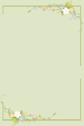 fundo minimalista verde fresco fresco green line flores borboleta natural simples plano de fundo , Fundo Minimalista Verde Fresco, De, Fundo Imagem de fundo