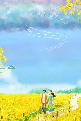 ताजा जंगली फूल समुद्र विषय पोस्टर ताज़ा स्वाभाविक रूप से ओपन , कला, आकाश, बादल पृष्ठभूमि छवि